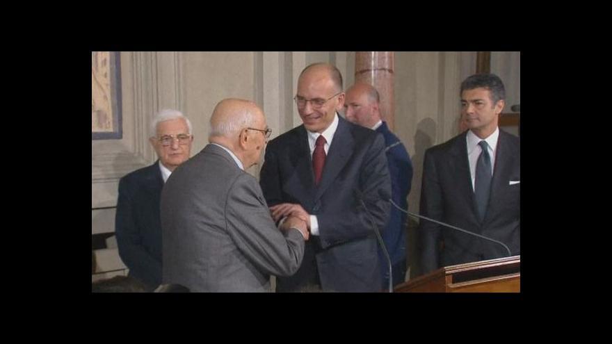 Video Itálie bude mít novou vládu