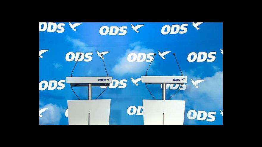 Video Výkonná rada ODS se zastala Schwarzenberga a Julínka