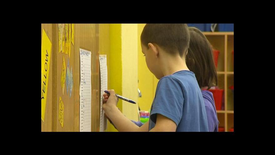 Video Petra Tachecí o slučování speciálních škol