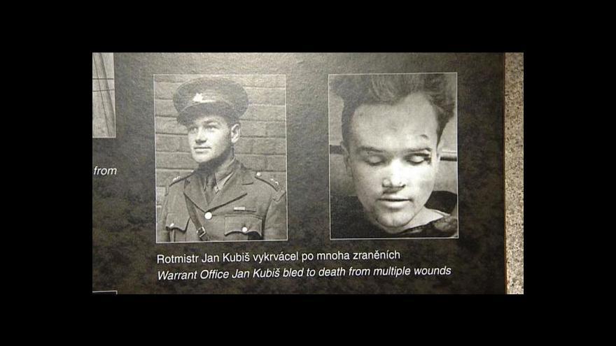 Video Brífink Vojenského historického ústavu k nálezu v Kubišově domě