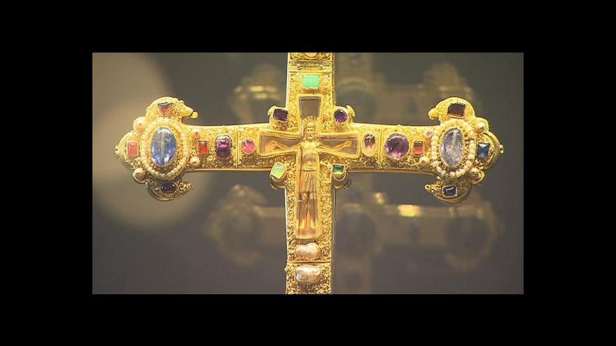 Video Závišův kříž na Zemské výstavě