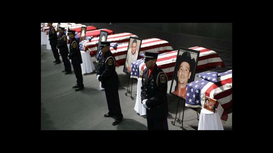 Video West se rozloučil s oběťmi výbuchu