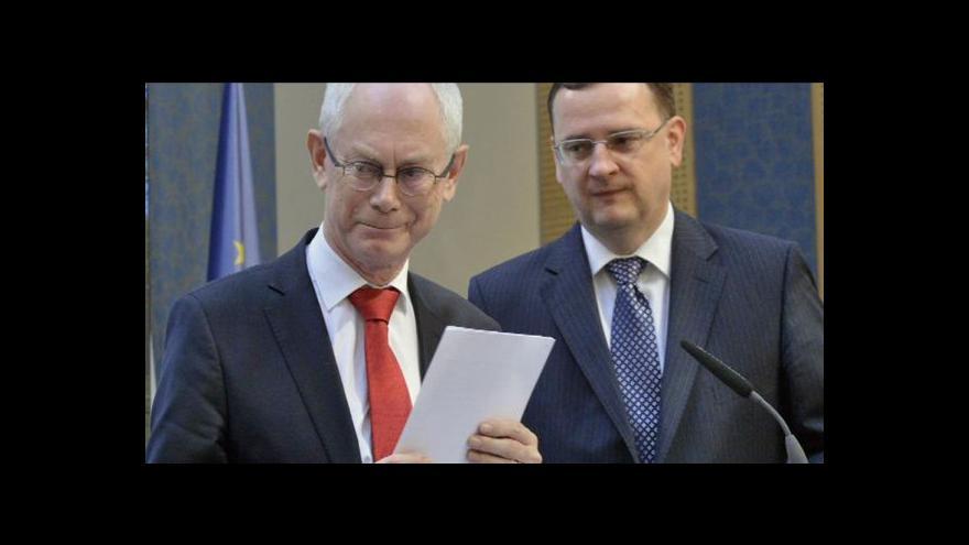 Video Události: Van Rompuy v Česku