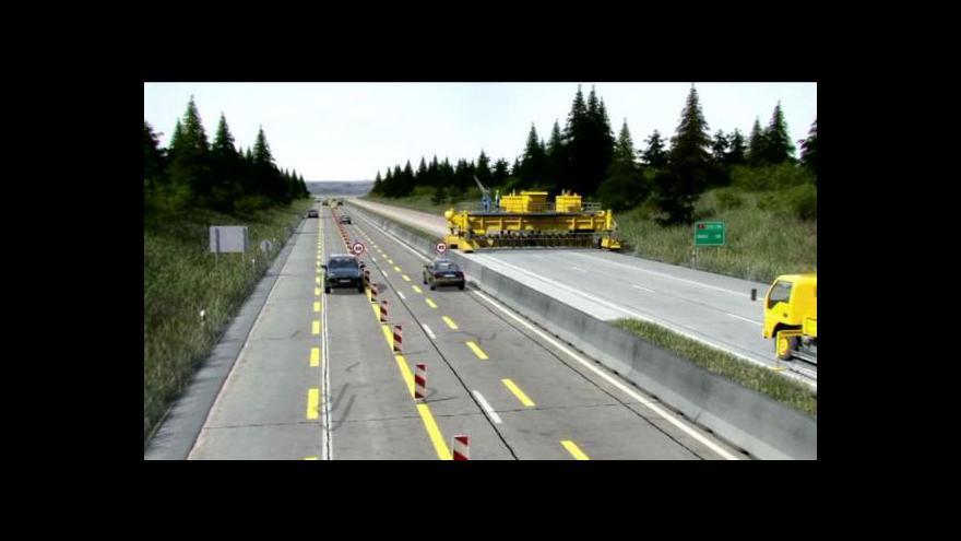 Video Události o modernizaci dálnice D1
