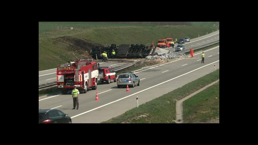 Video Nehoda kamionu na D1