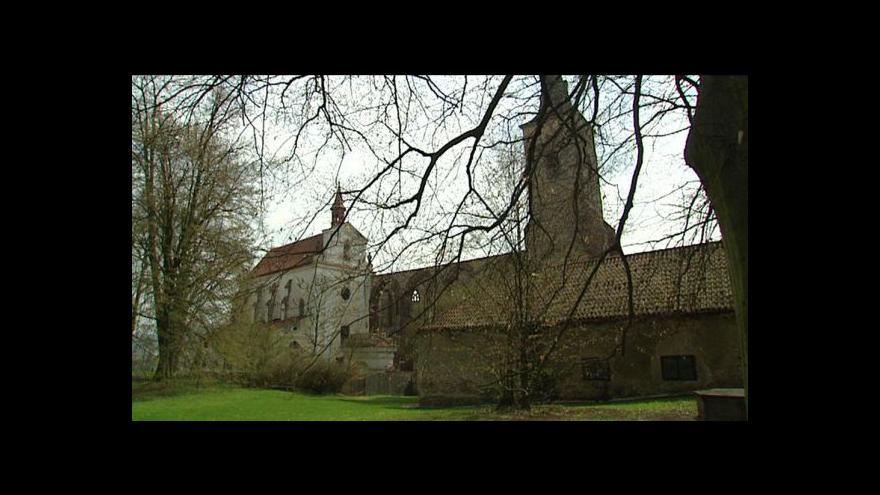Video Církve chtějí část Sázavského kláštera