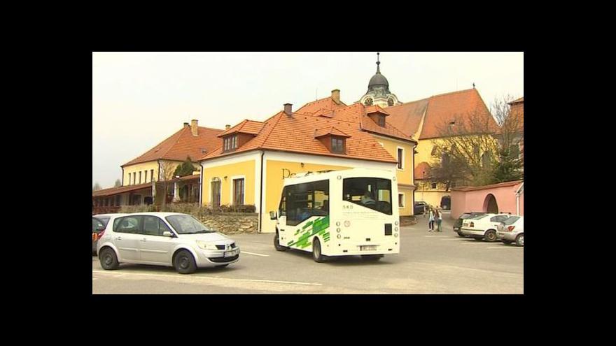 Video Elektrobus v Týně nad Vltavou