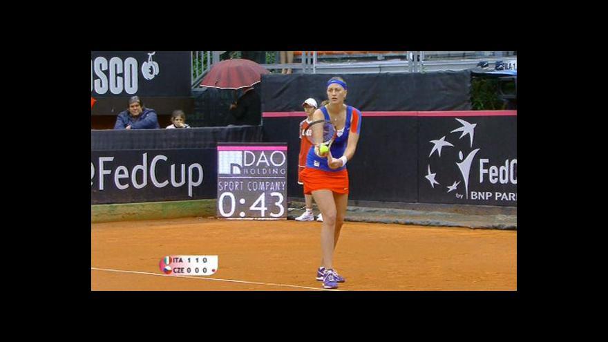 Video Sestřih zápasu Kvitová - Erraniová