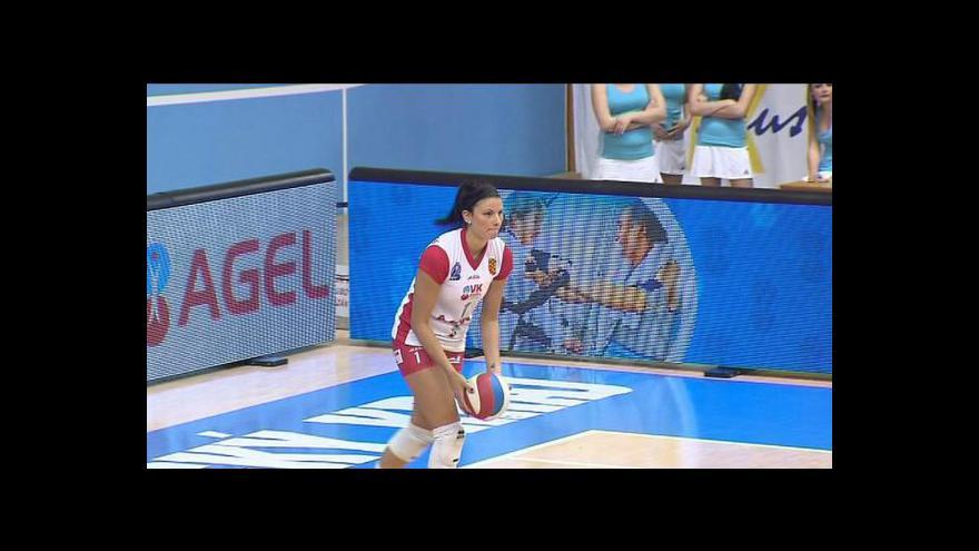 Video Sestřih 2. finále volejbalistek Prostějov - Olymp Praha