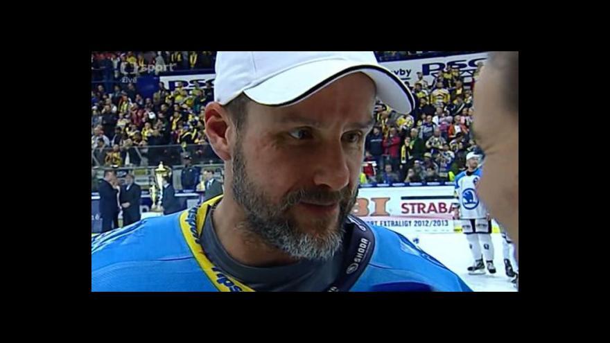 Video Reakce Martina Straky a Martina Hamrlíka po finále