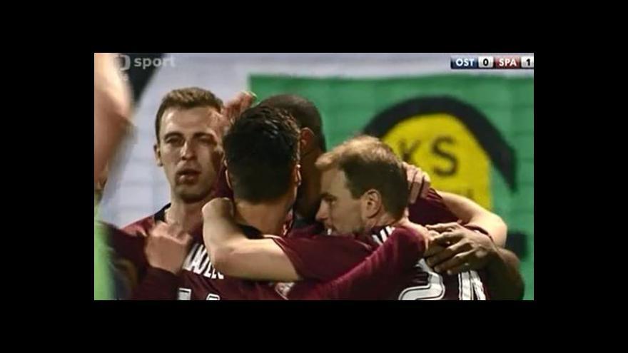 Video Baník-Sparta 0:1 (75. Kweuke)
