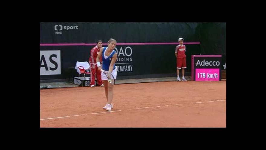Video Závěr zápasu Erraniová - Šafářová