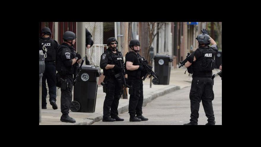 Video Bostonská policie dopadla Džochara Carnajeva