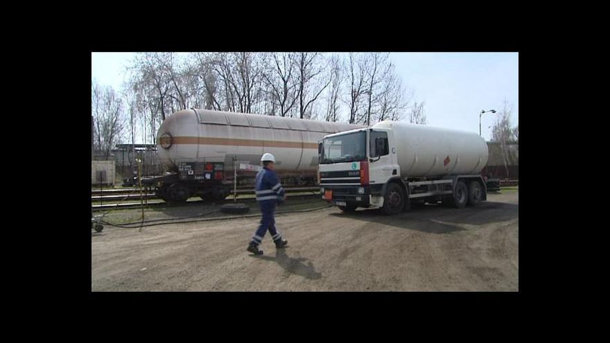 Video Přemysl Šrámek o překladišti plynu