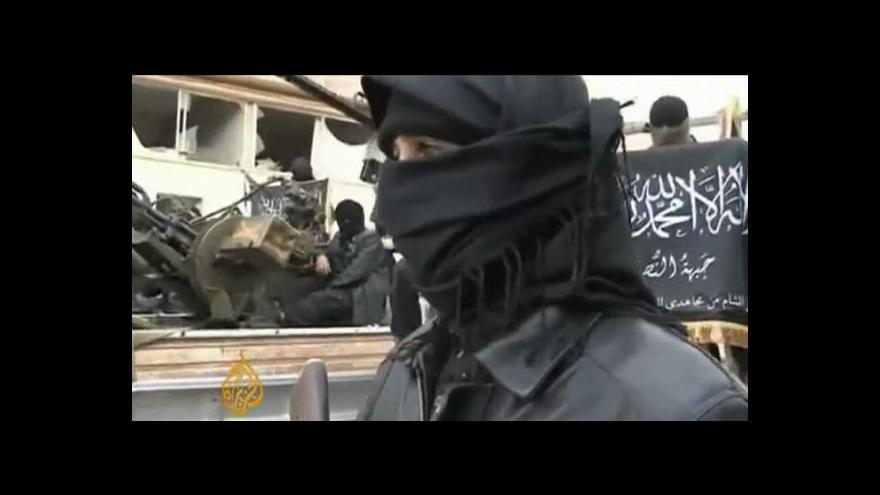 Video Asad varuje Západ před podporou al-Káidy