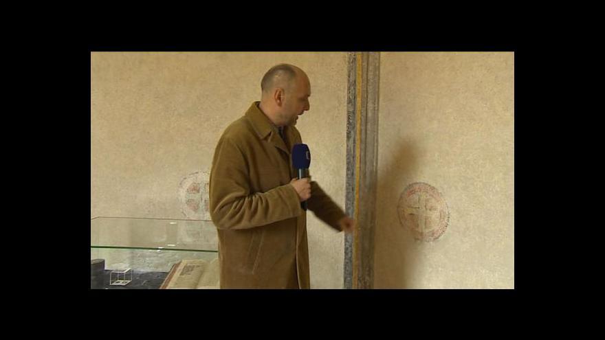 Video Aleš Hazuka o freskách ve Zlaté Koruně