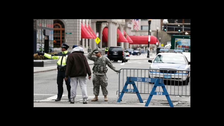 Video Policie má video s možným pachatelem útoku v Bostonu