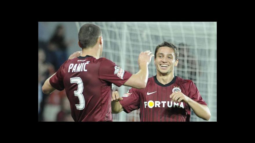 Video Sestřih čtvrtfinále poháru Sparta - Olomouc