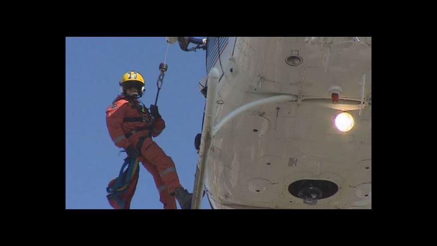 Video NO COMMENT: Záchranářské cvičení na AZ Tower