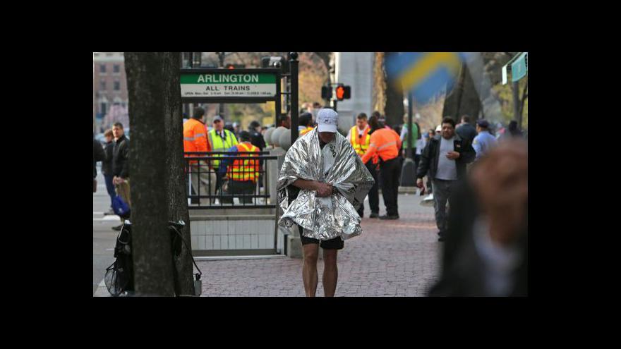 Video Zprávy v 10:00 o útoku v Bostonu