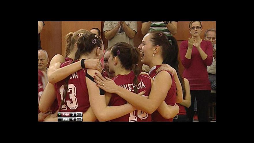 Video Sestřih volejbalu Olymp - Přerov