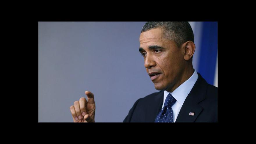 Video Projev Baracka Obamy