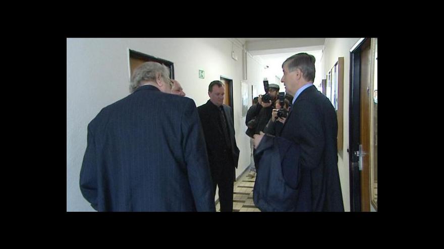 Video Přemysl Šrámek ke kauze litoměřických soudců