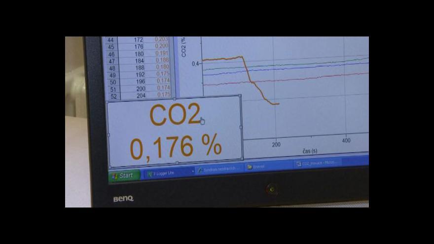 Video Za horší soustředěnost může CO2, zjistili studenti