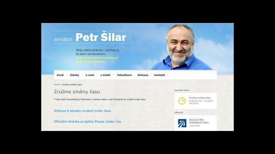 Video Rozhovor s Petrem Šilarem