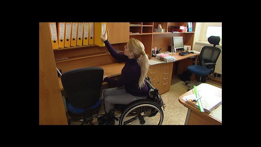Video andicapovaní vysokoškoláci mají malou šanci najít si práci