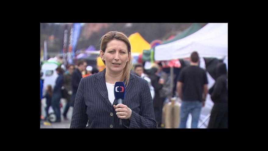 Video Reportáž Michaly Komrskové