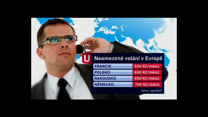 Video Neomezené tarify - od všech operátorů a za podobné ceny
