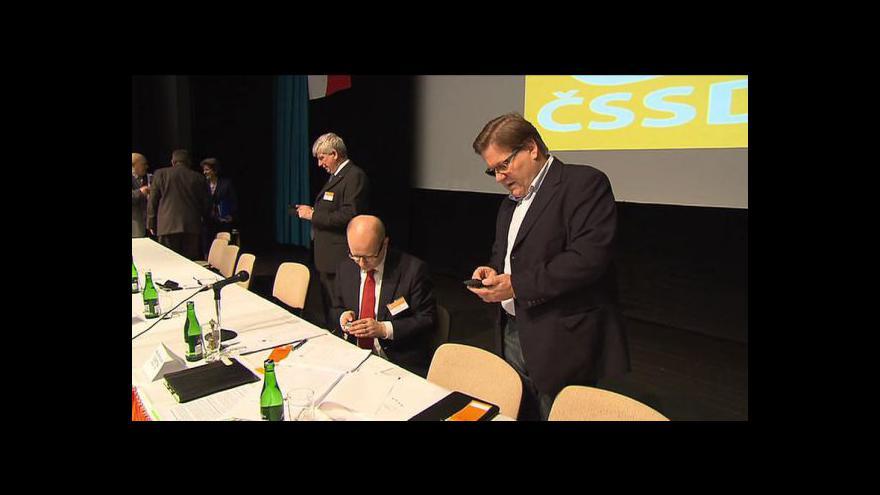 Video ČSSD zvolilo deset členů předsednictva, stínovou vládu zatím tají