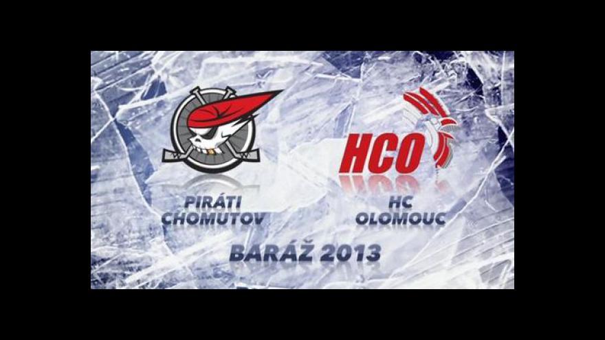 Video Sestřih a ohlasy utkání Chomutov - Olomouc