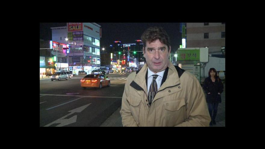 Video Události o situaci na Korejském poloostrově