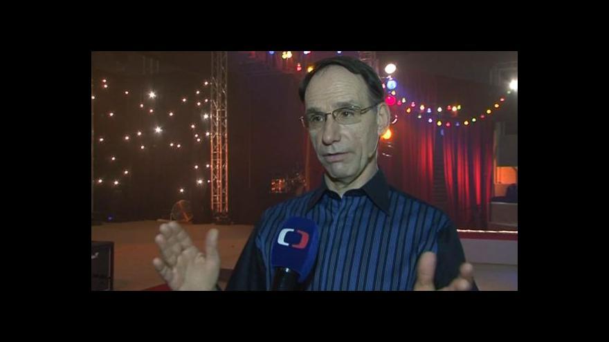 Video Michel Lauzière o svém vystoupení v Manéži Bolka Polívky