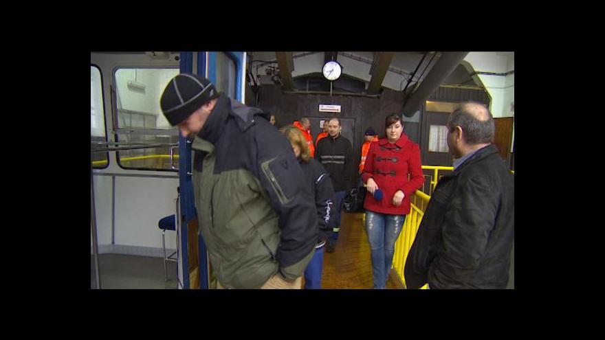 Video Michal Jemelka ke cvičení na ještědské lanovce