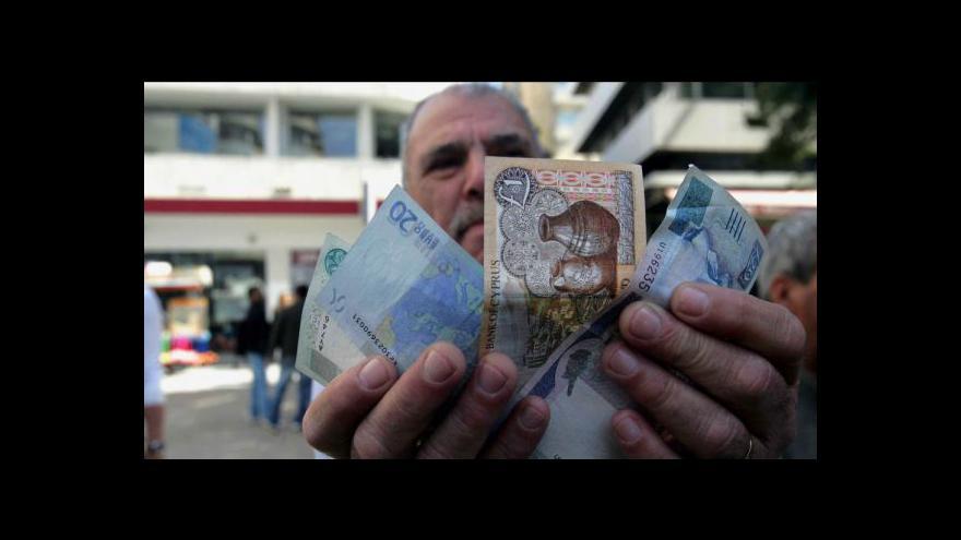 Video Kypr potřebuje další peníze. Jak rozhodne euroskupina?