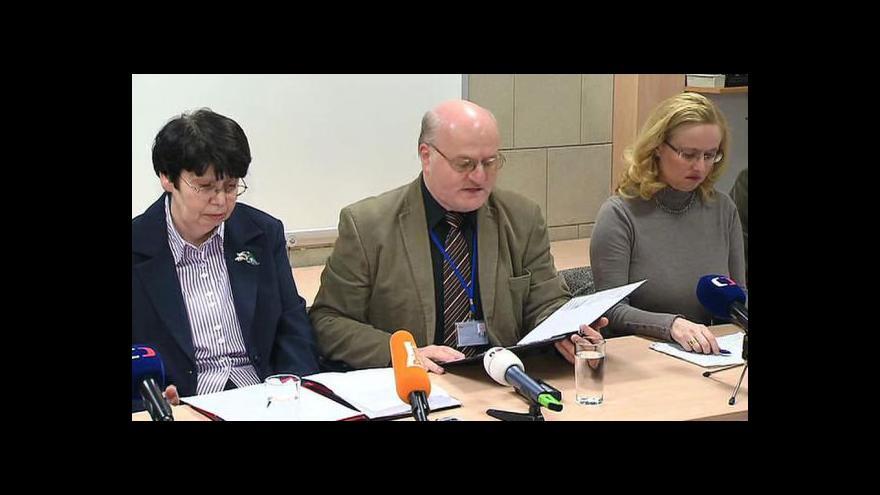 Video Brífink odcházejícího ředitele ÚSTR Daniela Hermana