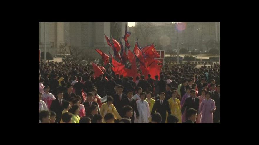 Video KLDR se chystá na oslavy dynastie Kimů