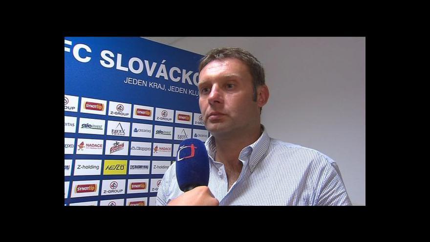 Video Rozhovor s trenérem Svatoplukem Habancem