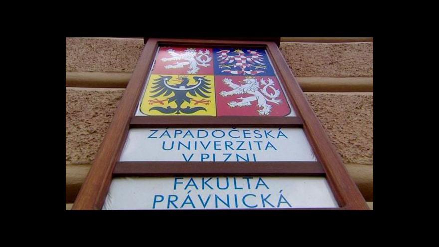 Video Plzeňská práva očekávají verdikt akreditační komise