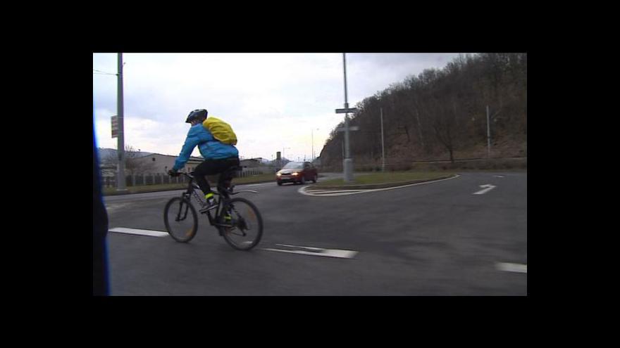Video Petra Tachecí o podmínkách pro cyklisty v Ústeckém kraji