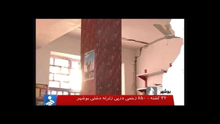 Video Írán hledá další oběti zemětřesení