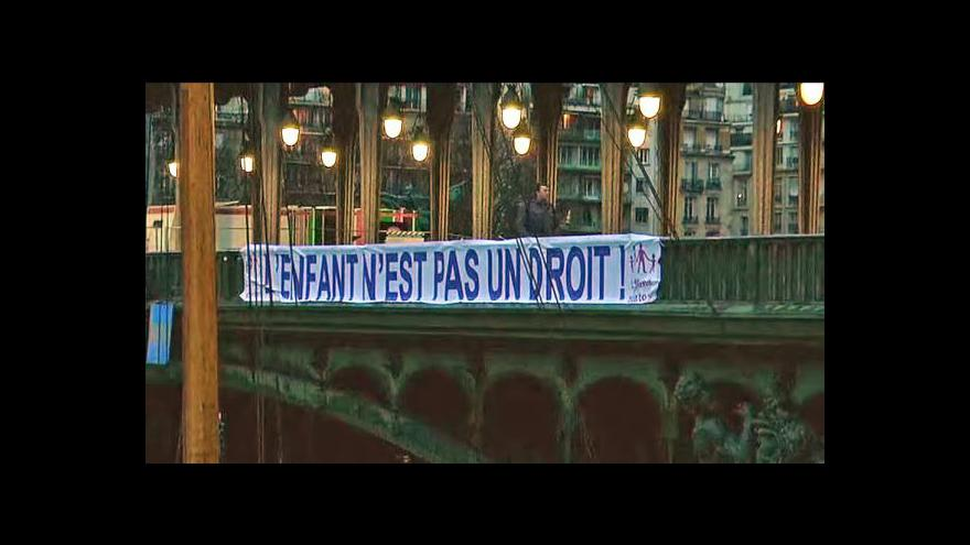 Video Telefonát Jana Šmída k homosexuálním sňatkům ve Francii