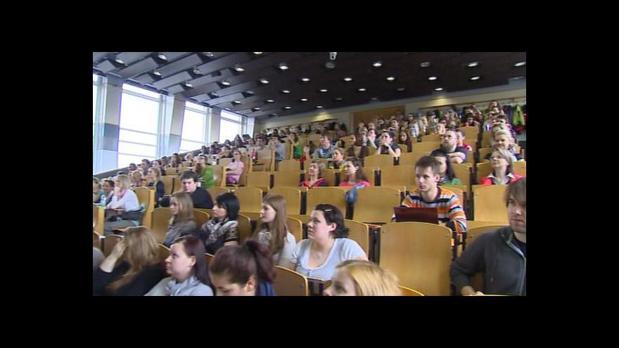 Video Studenti pomáhají rozšířit okruh dárců kostní dřeně