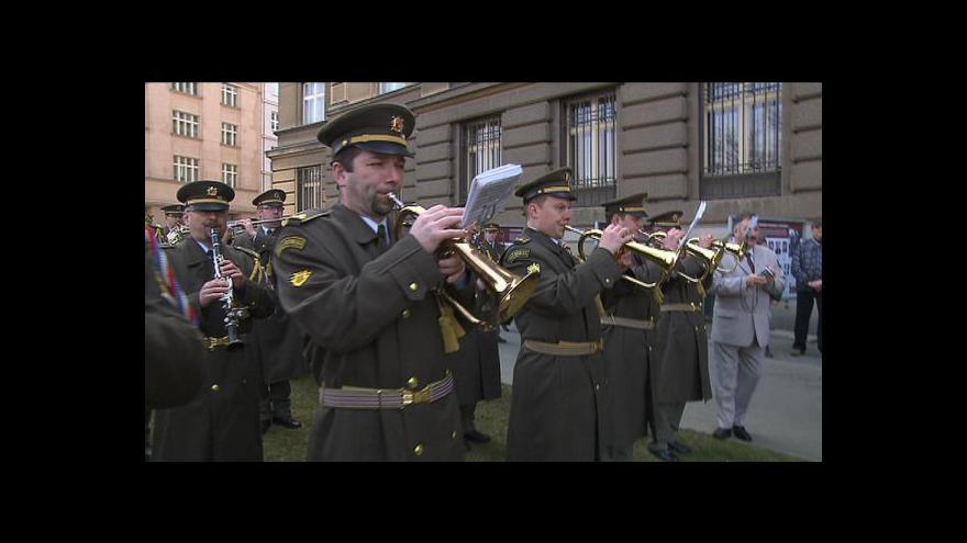 Video Reportáž Lucie Klímové o vojenské hudbě