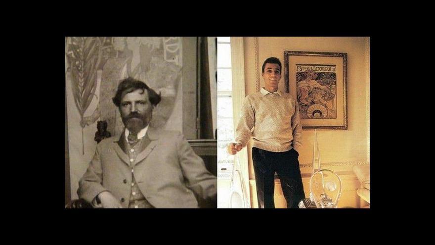 Video Tisková konference k výstavě Ivan Lendl: Alfons Mucha
