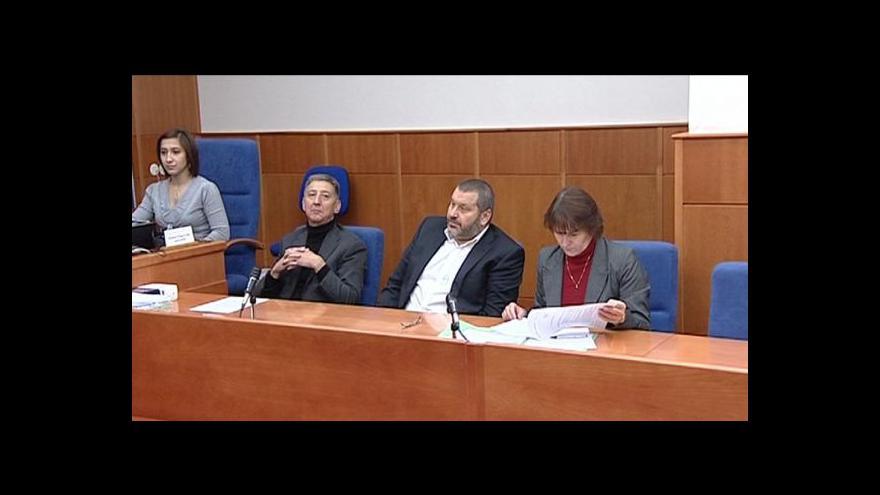 Video Novinky v kauze exsenátora Nováka
