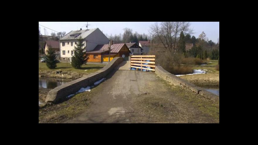 Video Radovan Daněk ke sporu kolem historického mostu